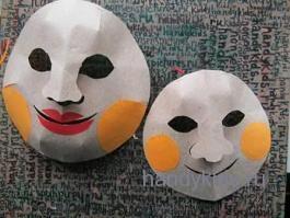 Наведём на маски румянец