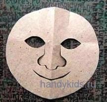 Как сделать маску колобка