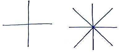 Как нарисовать снежинку пошагово