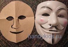 Сделаем маску Колобка