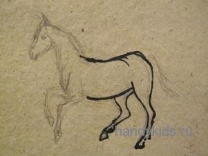 Рисование-лошадь