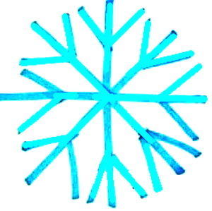Как нарисовать снежинку-1105