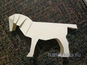 Сделаем модель лошади из бумаги