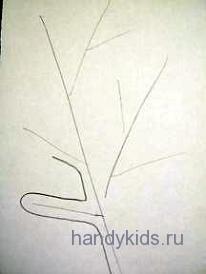 Штриховка Кактус