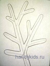 Нарисуем  сочные ветви кактуса