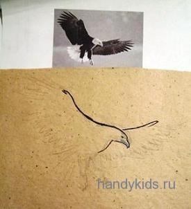 Орёл летит