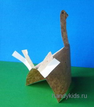 Объёмная модель утки