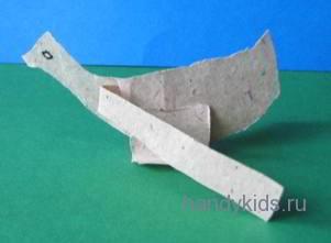 Утка из бумаги