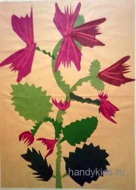 Сказочный цветок