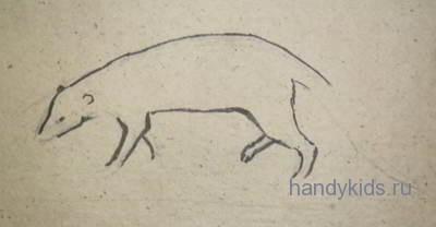 Как  нарисовать мангуста