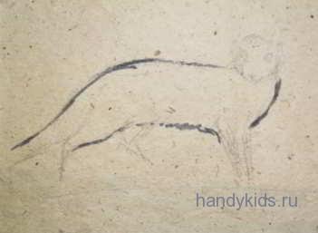 Рисуем мангуста