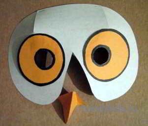 Сделаем маску полярной совы