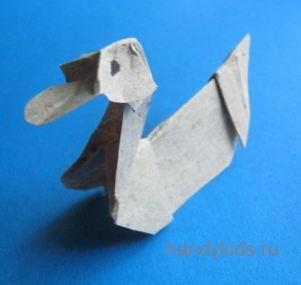 Бумажная утка