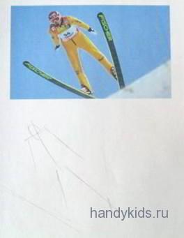 Прыжок на лыжах с трамплина