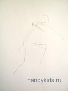 Рисуем схему фигуры