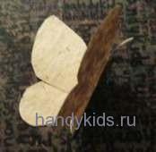 Бумажная модель бабочки