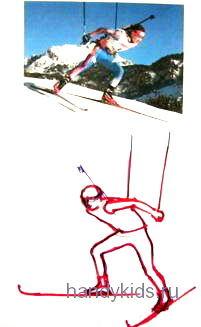 Рисуем биатлониста-31