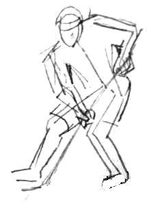 Рисуем хоккеистов