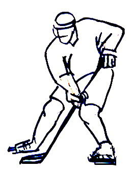 Хоккеист рисунок 51