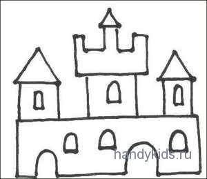 Рисуем сказочны дома и домики