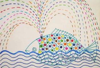 Раскраска Рыба-Кит