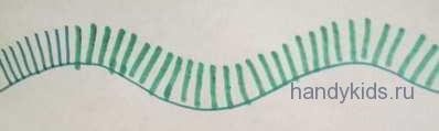 Пример штриховки