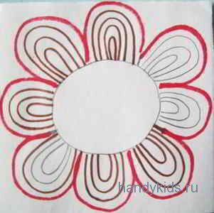 Обводилка Цветок