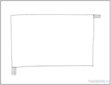 Как нарисовать ковёр