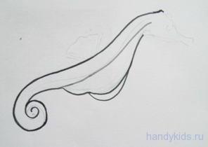 Рисуем брюшко