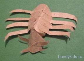 Бумажный паук
