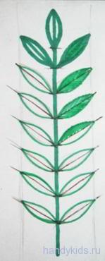 Нарисуем  и раскрасим листья