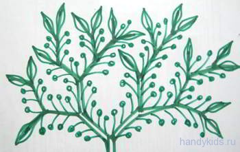 Растительный узор