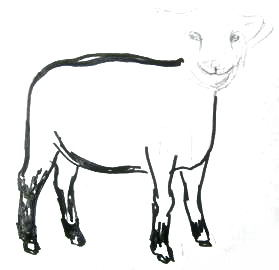Рисуем барашка