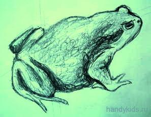 Рисунок Жаба 13