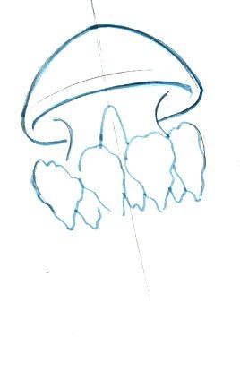 Рисуем медузу реалистически