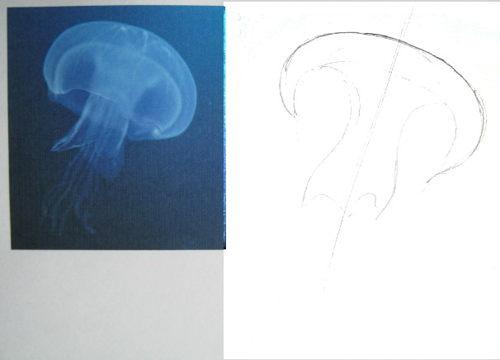 Нарисуем медузу 19