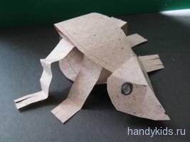 Как сделать модель лягушки