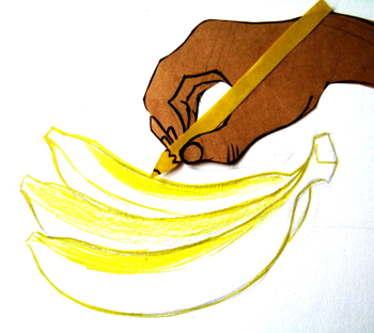 Нарисуем банан
