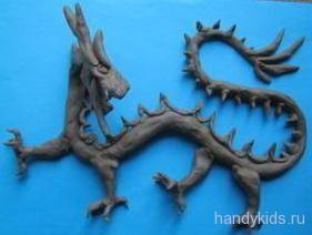 Пластилиновый дракон