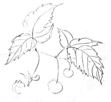 Рисуем малину