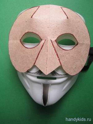 Как сделать маску воробья своими руками