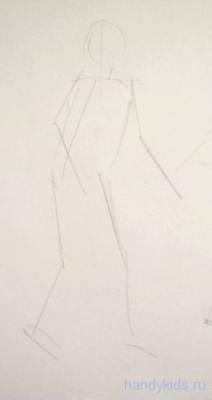 Рисуем девочку