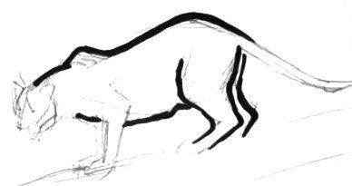 Нарисуем пантеру -урок 1