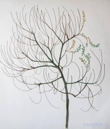 Как научиться рисовать дерево