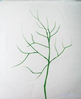 Учимся рисовать дерево