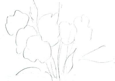 Эскиз -букет 2