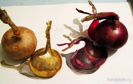 Как нарисовать лук