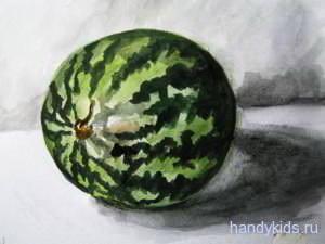 Рисунок Арбуз -13
