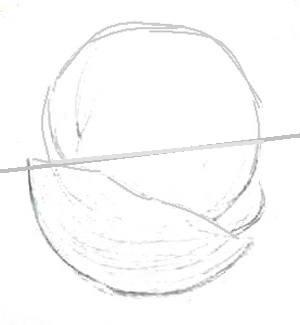 Арбуз Рисунок карандашом