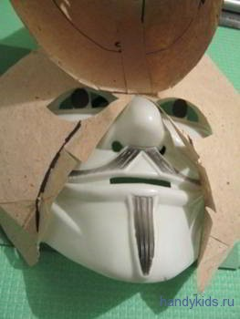Изготовляем маску козла